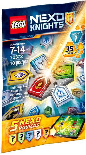 LEGO Nexo Knights: Комбо NEXO Силы 70372