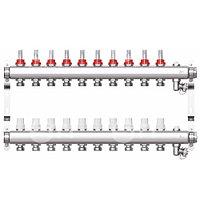 Коллекторная группа STI СМ10F в сборе с расходомерами (10 вых.)