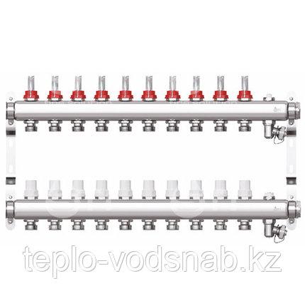 Коллекторная группа STI СМ10F в сборе с расходомерами (10 вых.), фото 2