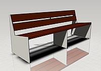 Скамейки Декоративные Модель DG-327