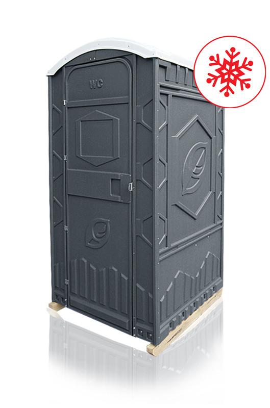 Туалетная кабина «Прагма» с обогревом бака (универсальный бак с площадкой для ног)