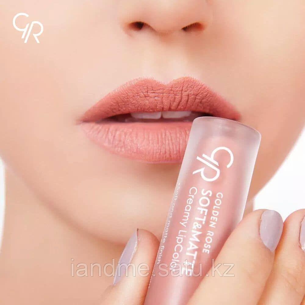 Жидкая помада Golden Rose Soft and Matte Creamy Lipcolor