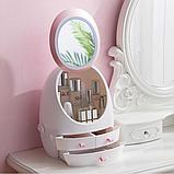 Органайзер для косметики с зеркалом с Led подсветкой, фото 2