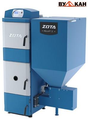 Автоматический твердотопливный котел ZOTA «Pellet S» 32 кВт.