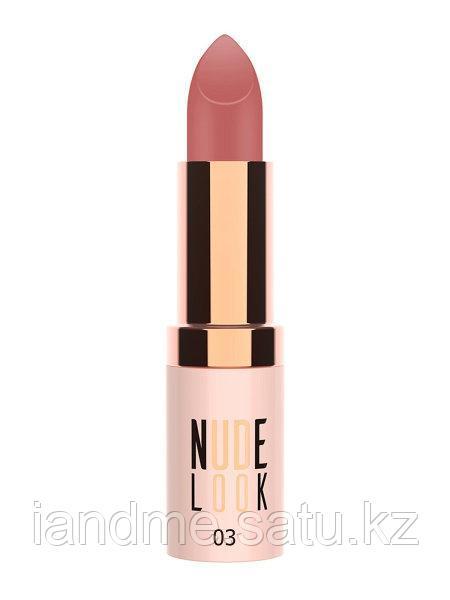 Матовая помада для губ Golden Rose Nude Look Perfect Matte Lipstick