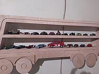 Полка машина для коллекции машинок, фото 1