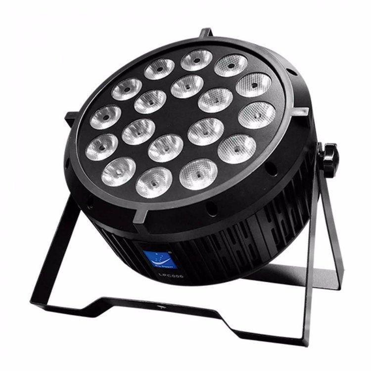 Светодиодный прожектор смены цвета (колорчэнджер),  Big Dipper LPC004 RGBW 18х8Вт