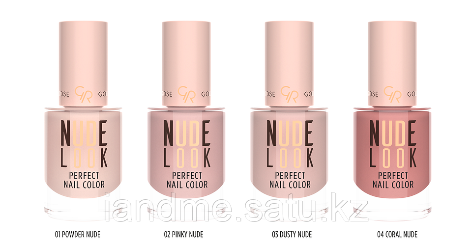 Лак для ногтей Golden Rose Nude Look Perfect Nail Color