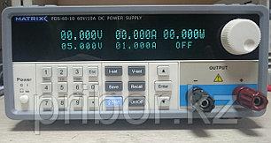 Программируемый одноканальный импульсный источник постоянного напряжения и тока (60 В, 10 А) MATRIX PDS-6010