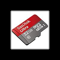 Карта памяти microSD SanDisk Ultra (32 GB Class 10)