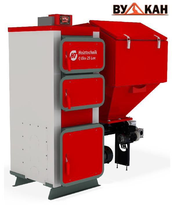 Автоматический угольный котел Heiztechnik Q EKO 35 кВт.
