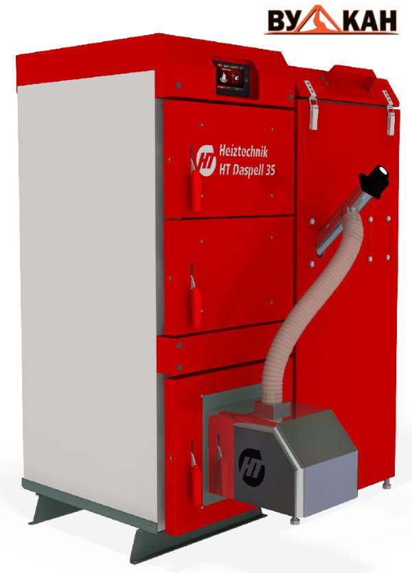Автоматический пеллетный котел Heiztechnik Q DasPell 35 кВт.