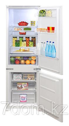 Zigmund&Shtain BR 03.1772 SX  Встраиваемый холодильник, фото 2