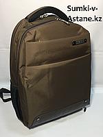 Деловой рюкзак для города Happy People, с отделом под ноутбук. Высота 44 см,длина 30 см,ширина 17 см., фото 1