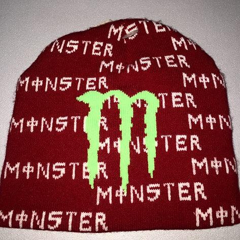 Шапка monster energy красная, фото 2