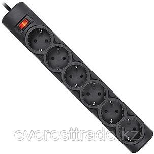 Сетевой фильтр Defender DFS 155 5м черный, фото 2