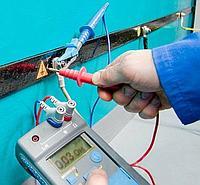Проверка наличия цепи и замеры переходных сопротивлений между заземлителями и заземляемым оборудованием (металлосвязь)