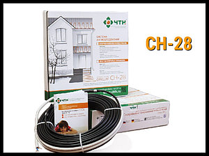 Двужильный нагревательный кабель СН-28 - 115м