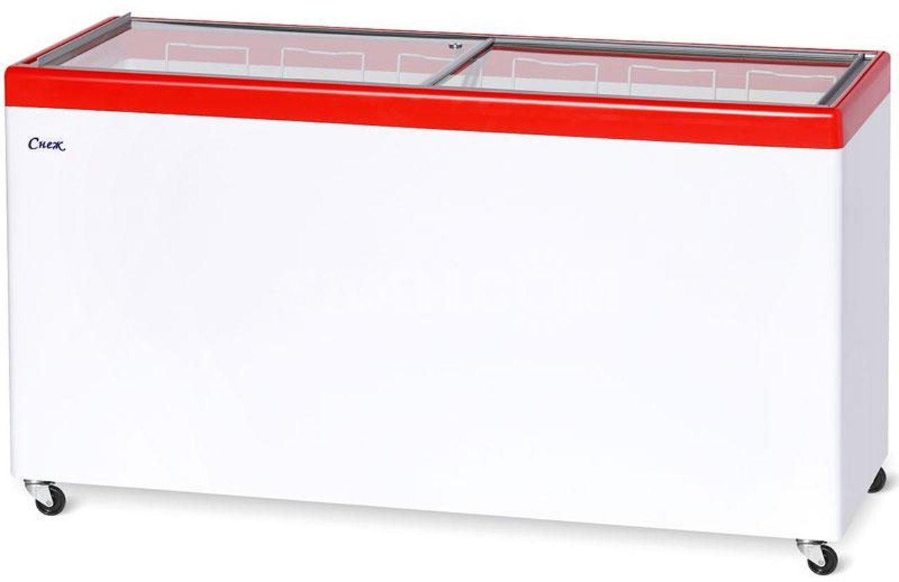Ларь морозильный Снеж МЛП-700 красный