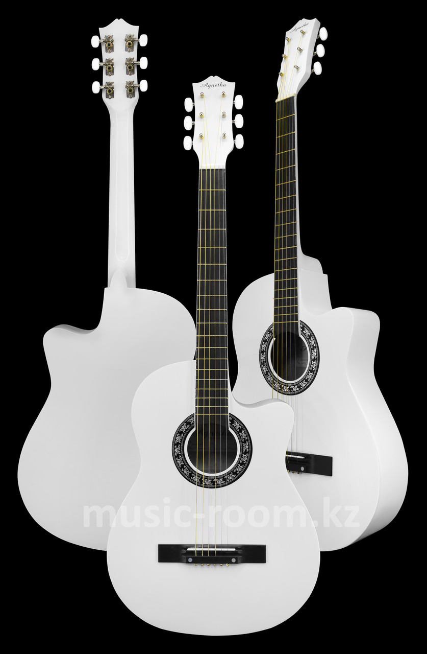Акустическая гитара Agnetha APG-E110C WH