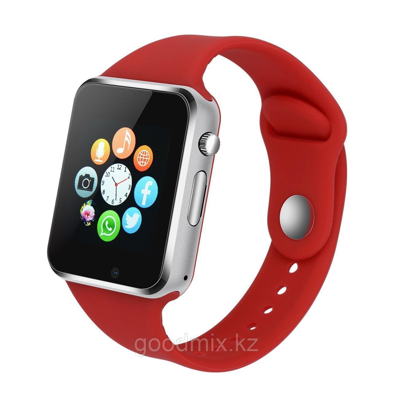 Смарт часы A1 Smart Watch (красный)