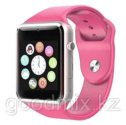 Смарт часы A1 Smart Watch (розовый)