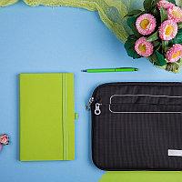 Набор подарочный LEVEL UP: бизнес-блокнот, ручка, чехол для планшета, Зеленый, -, 35007 27