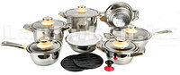 Набор кастрюль и аксессуаров Temperature Control (19 предметов)