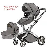 Hot Mom F22  Washing grey 2в1 (Алькантара), фото 1
