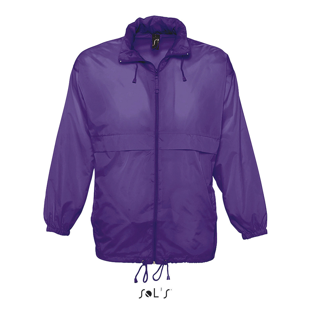 Водонепроницаемая ветровка Sols Surf,Фиолетовая XL
