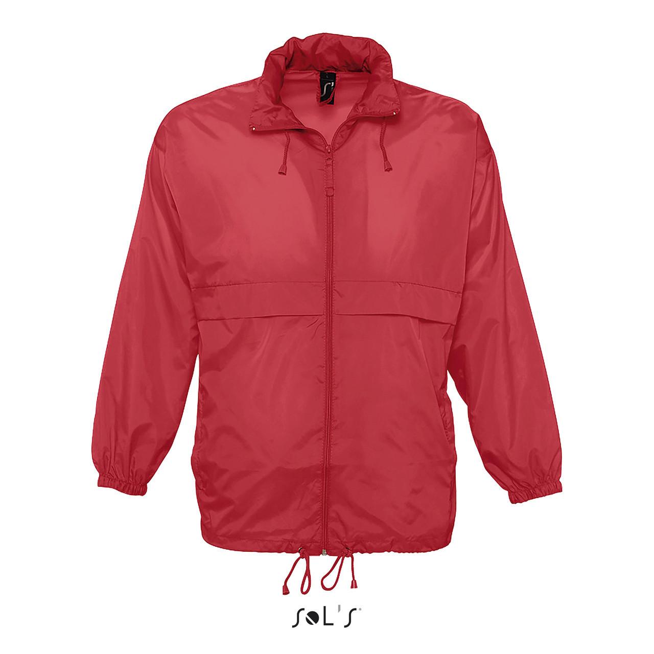 Водонепроницаемая ветровка Sols Surf, Красная XL