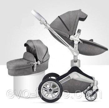 Hot Mom F023 Washing Grey 2в1