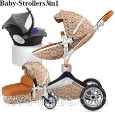 Детская коляска Hot Mom F023 Double Cirble 2в1