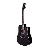 Акустическая гитара Adagio MDF-4171C BK, фото 3