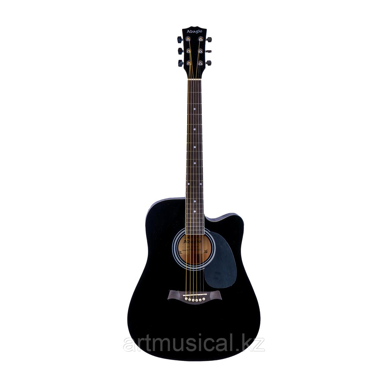 Акустическая гитара Adagio MDF-4171C BK