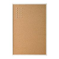 Доска пробковая с кнопками ВЭГГИС  58x39 см ИКЕА, IKEA, фото 1