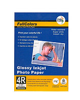 Фотобумага Fullcolors RC, 13x18, 50 листов, микропористая, на резиновой основе, плотность 270г\м