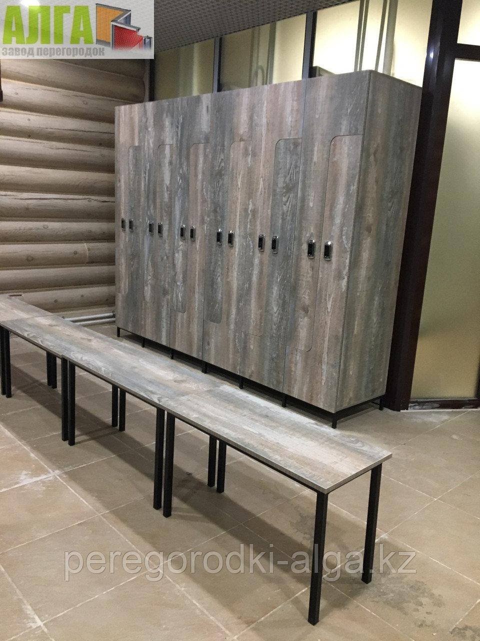 Шкафчики для одежды 6-секционные 12-местные