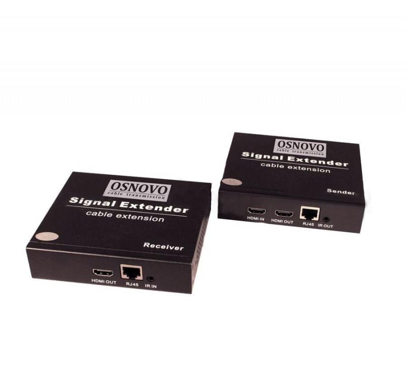 Приемник OSNOVO RLN-Hi/2, HDMI, ИК, RS232 по IP (H.264) до 200м