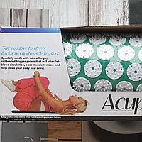 Аппликатор - коврик Acupressure Mat (60 см на 40 см зеленый), фото 1