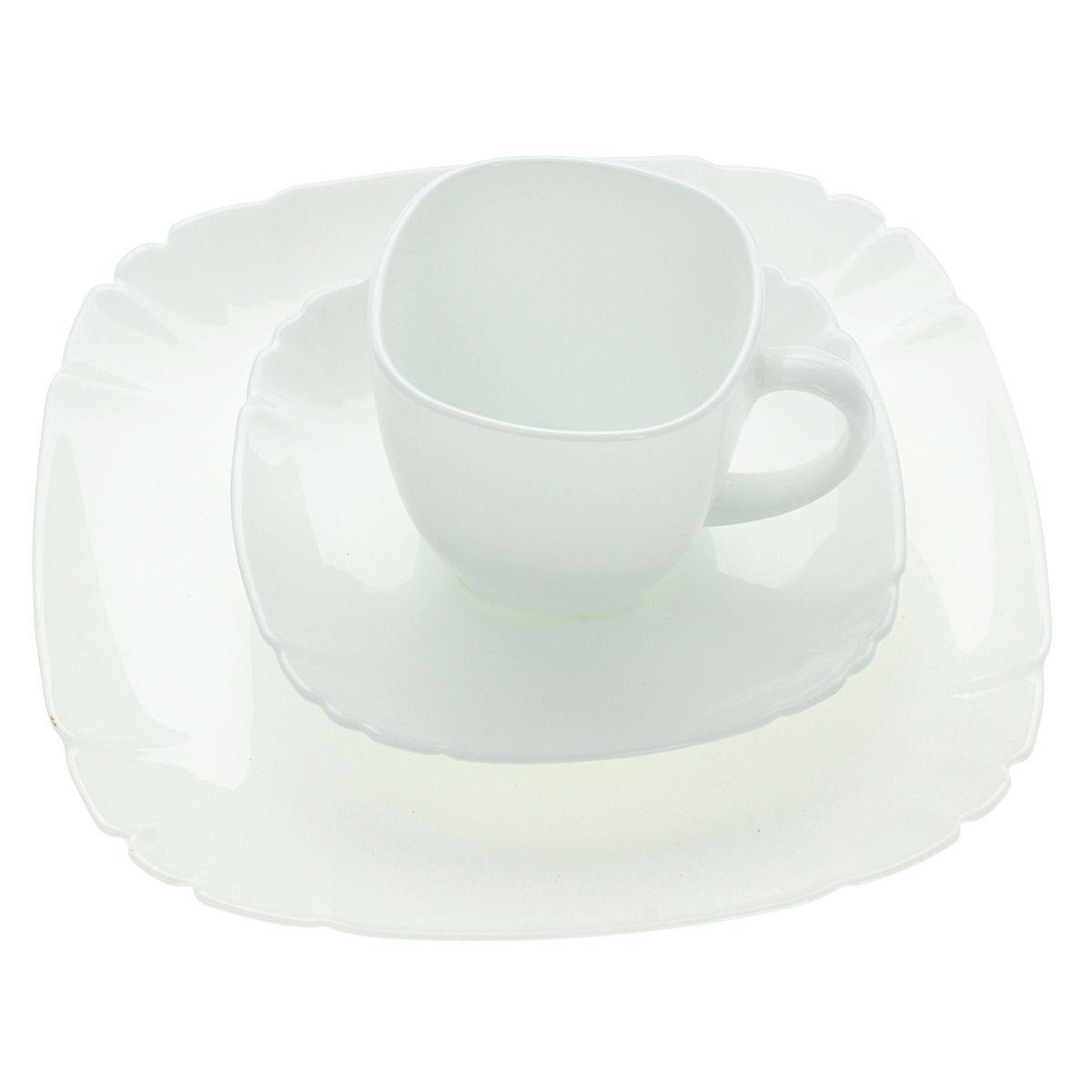 Сервиз чайно-столовый Luminarc LOTUSIA 18 предметов на 6 персон