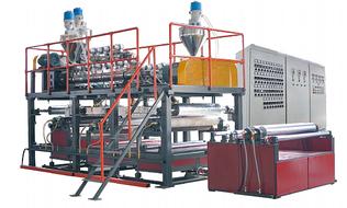 Оборудования для производства упаковочных материалов из пластмасс из Китая