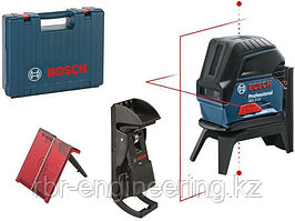 Лазерный уровень, Bosch GCL 2-15  Professional, 15 м, красный лазер, 0 601 066 E02