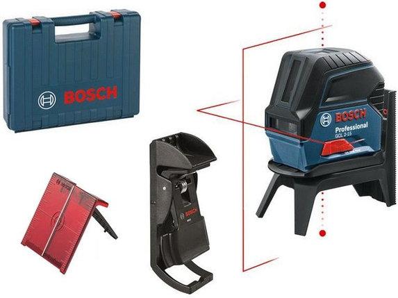 Лазерный уровень, Bosch GCL 2-15  Professional, 15 м, красный лазер, 0 601 066 E02, фото 2