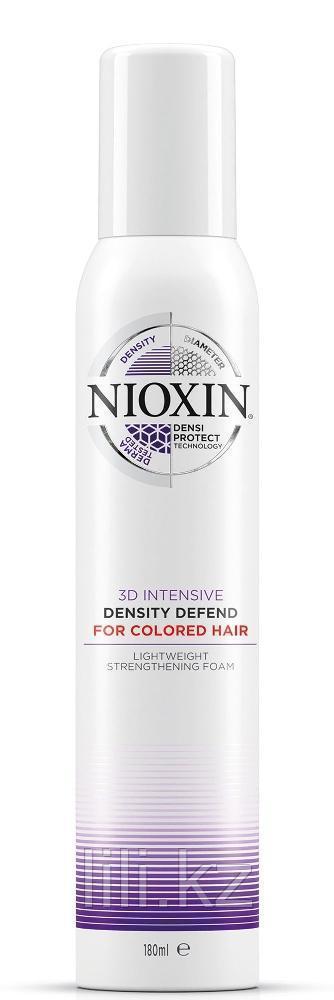 Мусс для защиты цвета и плотности окрашенных волос Nioxin Density Defend For Colored Hair 200 мл.