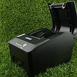 Термопринтер чеков чековый повышенный ресурс для магазина кафе ресторана Rongta RP58 Big gear, 58mm, USB, фото 4