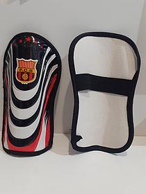 Футбольные щитки Barcelona  (цвет чёрный)