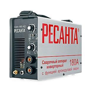Сварочный аппарат РЕСАНТА САИ-180 АД с функцией аргонодуговой сварки