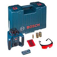 Лазерный нивелир, ротационный, Bosch GRL 250 HV Professional, 125 м (радиус) , 0 601 061 600