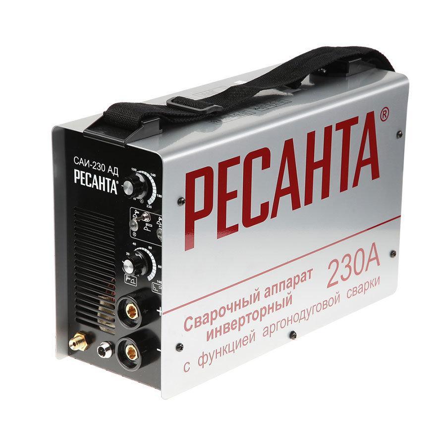 Сварочный аппарат РЕСАНТА САИ-230 АД с функцией аргонодуговой сварки